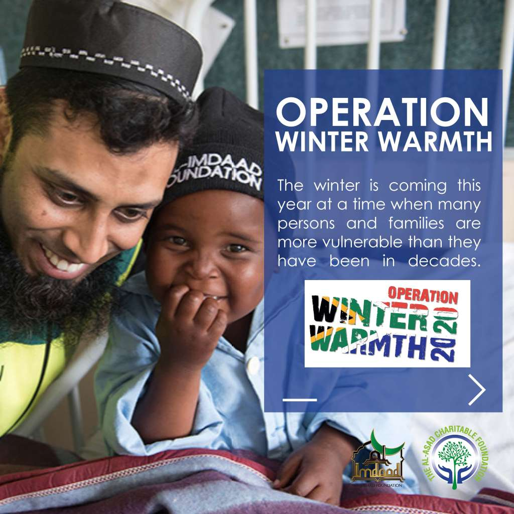 Operation Winter Warmth Campaign Image