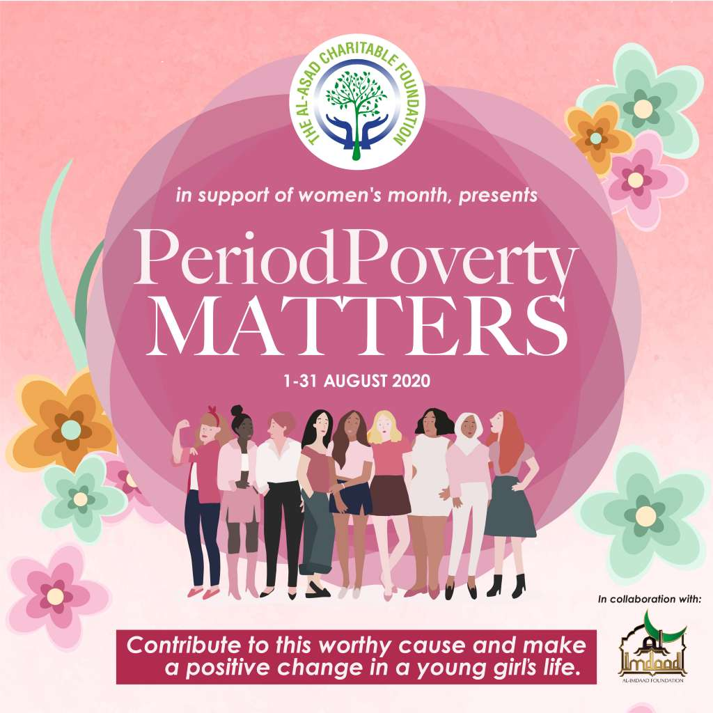 Period Poverty - The Al-Asad Charitable Foundation